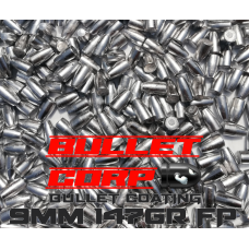 9mm 147gr FP BB (7.3kg) Uncoated
